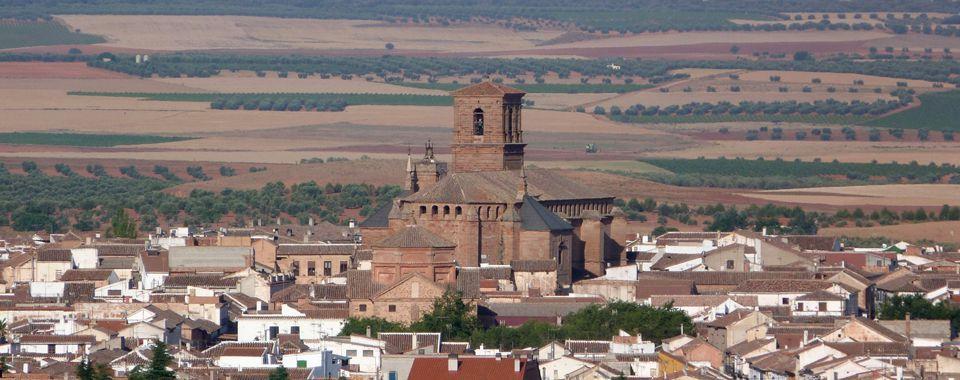 Fotografía con vista general de Villanueva de los Infantes.
