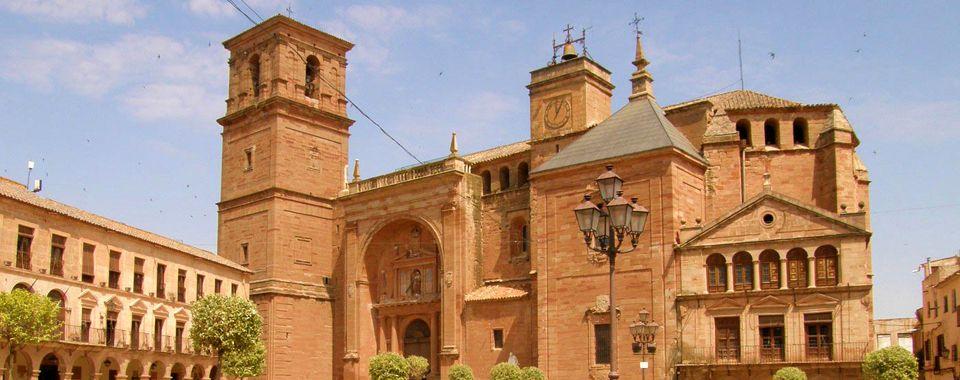 Fotografía de la Iglesia de San Andrés, en Villanueva de los Infantes.