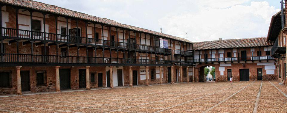 Plaza mayor de San Carlos del Valle