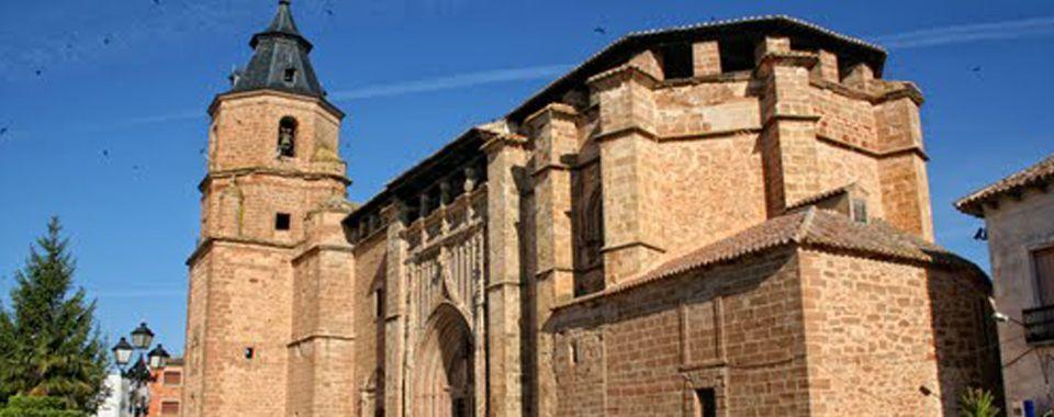 Fotografía de la Iglesia parroquial de Nuestra Señora de la Asunción, en Villahermosa, Ciudad Real