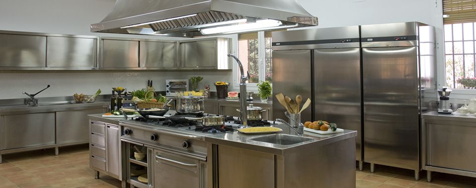 Fotografía de las instalaciones de la cocina en El Crespo.