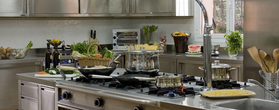 Fotografía de las instalaciones de la cocina en El Crespo