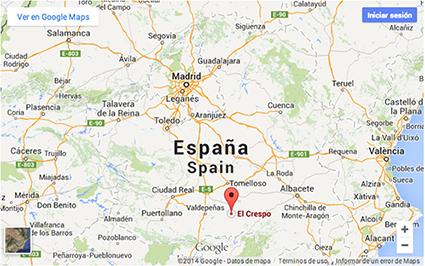 Localización El Crespo
